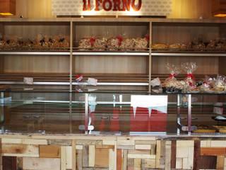 IL FORNO, Novellara (RE) Architetto Andrea Farri Gastronomia in stile moderno