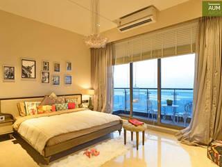 غرفة نوم تنفيذ Aum Architects