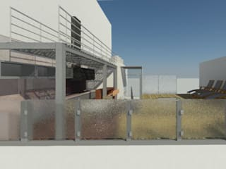 Modern Balkon, Veranda & Teras sm arquitectura Modern