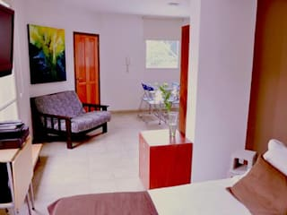 Modern Oturma Odası sm arquitectura Modern
