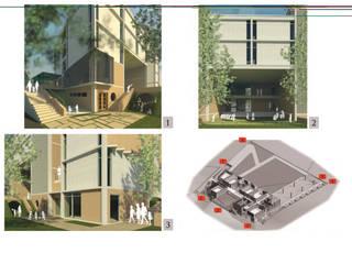 de RnG Architects Minimalista