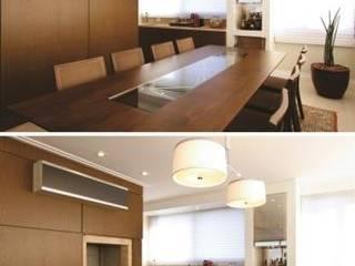 Apartamento clássico e aconchegante Salas de jantar clássicas por Flávia Bastiani Arquitetura Clássico