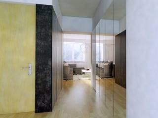Hol w mieszkaniu w Kłobucku: styl , w kategorii Korytarz, przedpokój zaprojektowany przez AWX2 ARCHITEKCI