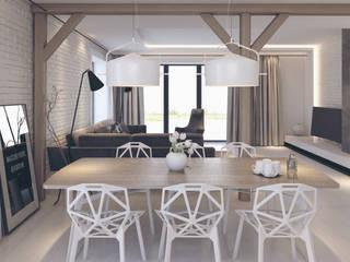 Projekt Wnętrz M01: styl , w kategorii Jadalnia zaprojektowany przez MOCO Architekci
