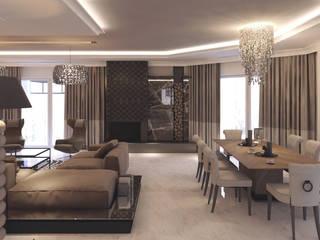 Projekty Wnętrz M02: styl , w kategorii Jadalnia zaprojektowany przez MOCO Architekci