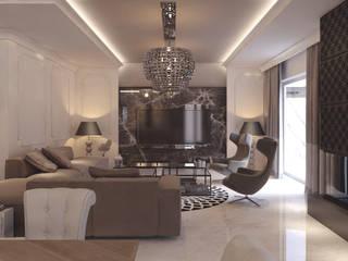 Projekty Wnętrz M02: styl , w kategorii Salon zaprojektowany przez MOCO Architekci