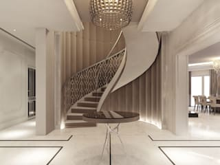 Projekty Wnętrz M02: styl , w kategorii Korytarz, przedpokój zaprojektowany przez MOCO Architekci