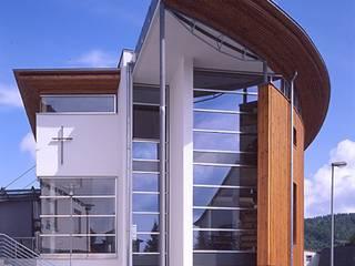 Kirchliches Gemeindezentrum:  Häuser von SIGRUN GERST ARCHITEKTUR