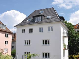 Energetische Sanierung Mehrfamilienhaus:  Häuser von SIGRUN GERST ARCHITEKTUR