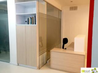 Diseño Arquitectónico y Construcción Oficinas S&M Outsourcing y Consultoría de INblatt _Arquitectura Moderno
