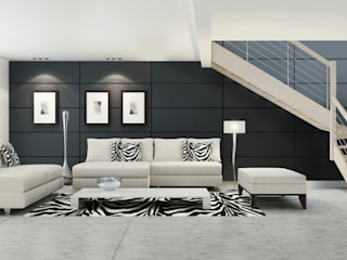 Salas de estilo minimalista de Grana Scale Minimalista