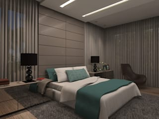 Concepto Design Modern style bedroom