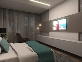 Bedroom by Concepto Design, Modern