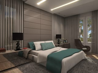 modern Bedroom by Concepto Design