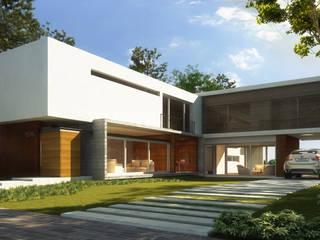 Maisons modernes par Estudio Arquitectura Agustín Duarte Moderne