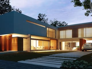 Proyecto Casa RO: Casas de estilo  por Estudio Arquitectura Agustín Duarte