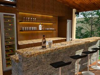 Remodelacion Bar en casa ubicada en Valencia Casas modernas de José D'Alessandro Moderno