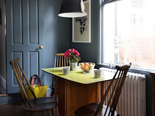 London Town House Frank and Faber Eclectic style kitchen