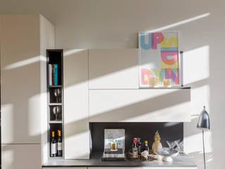 West London Development Frank and Faber 現代廚房設計點子、靈感&圖片
