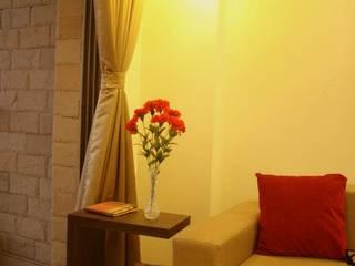 Serendipity:  Living room by Neha Changwani,Modern