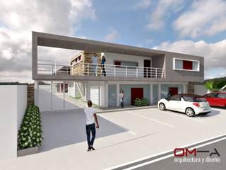 om-a arquitectura y diseño Minimalist house