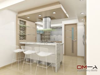 Kitchen by om-a arquitectura y diseño