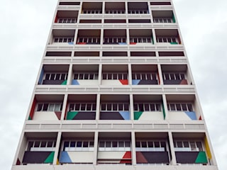 Appartement im Corbusierhaus, Berlin Moderne Häuser von ALBRECHT JUNG GMBH & CO. KG Modern