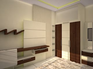 Bedroom interior by VINCA interiors