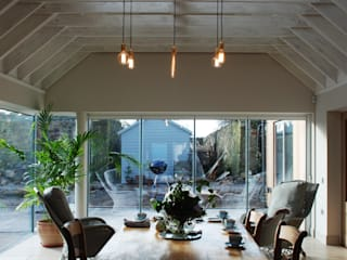 Dining Space:  Dining room by Aitken Turnbull Architects