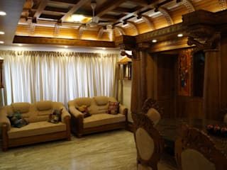 Traditional Interior Design Classic style living room by Monnaie Architects & Interiors Classic