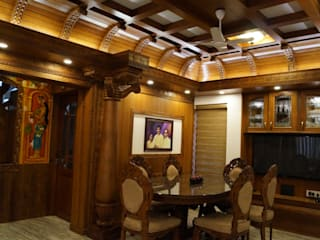 Traditional Interior Design Classic style dining room by Monnaie Architects & Interiors Classic