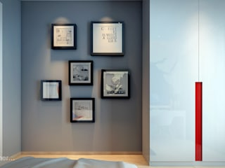spiderman fan boy bedroom : modern  by Im Designer studio,Modern