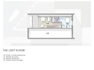 Loft Floor Plan de Artform Architects Escandinavo