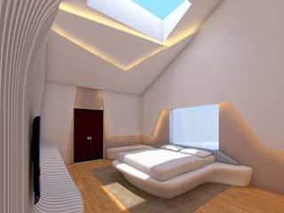 Kamar Tidur Modern Oleh RnG Architects Modern