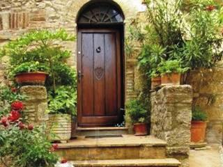 Drzwi zewnętrzne , lity dąb, seria Country od Revia Meble i drzwi z litego dębu.