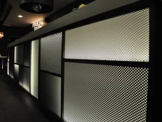 QB bar&more Soggiorno in stile industriale di Studio di architettura Alberto Antoni Industrial