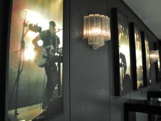 QB bar&more Ingresso, Corridoio & Scale in stile industriale di Studio di architettura Alberto Antoni Industrial