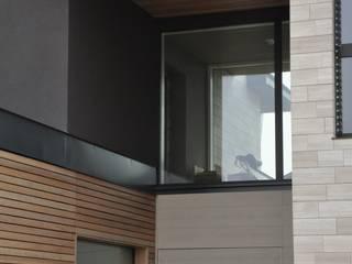 PROGETTAZIONE e DIREZIONE LAVORI CASACLIMA DI NUOVO EDIFICIO RESIDENZIALE Case moderne di Studio di architettura Alberto Antoni Moderno