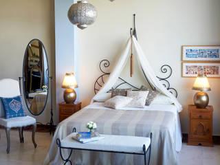 Decoración Andalusí의  침실