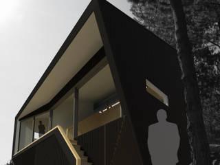 Casa Del Pedregal: Casas de estilo moderno por DAIBER & ACEITUNO Arquitectos