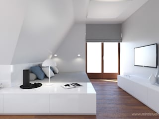 MIRAI STUDIO Minimalist bedroom