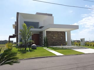 Houses by Biazus Arquitetura e Design, Modern