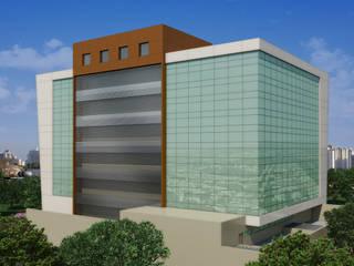 EMPRESARIAL TALATONA Escritórios modernos por Arquitetos Brasil Moderno