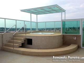 Obra em fase final: Spas  por Fernando Parreira Arquitetura