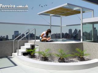 Maquete eletrônica do projeto: Spas  por Fernando Parreira Arquitetura