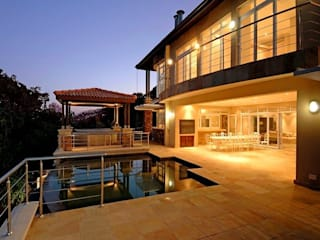 House at Ballito TJ Architects Country style pool