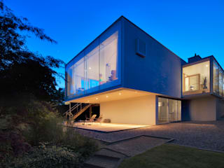 Woonhuis Aramislaan Moderne balkons, veranda's en terrassen van bv Mathieu Bruls architect Modern