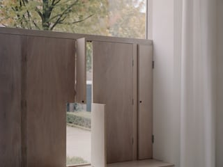 Woonhuis Wijnhoven - Beijnsberger Moderne woonkamers van bv Mathieu Bruls architect Modern