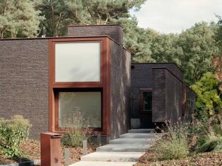Nieuwbouw woning familie Zuthof Moderne huizen van bv Mathieu Bruls architect Modern