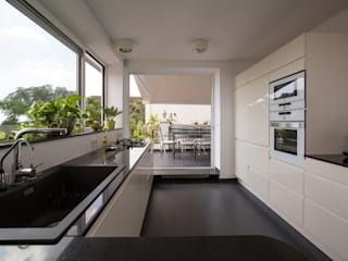 BDK LOCA Studio Cocinas de estilo minimalista Mármol Blanco